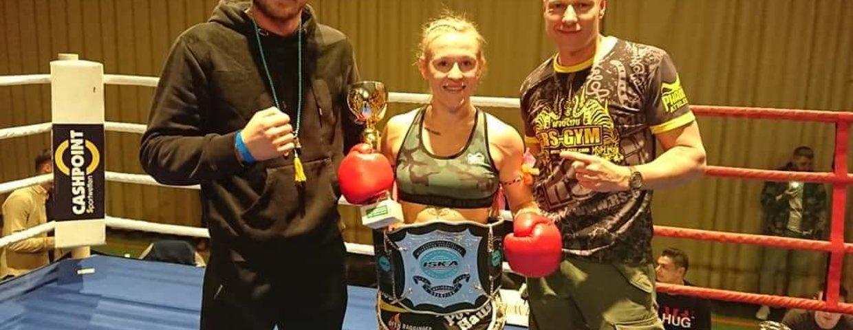 Christin Fiedler International Profi Muay Thai Champion