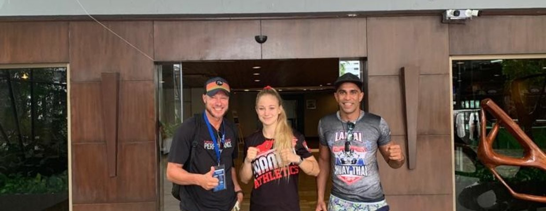 Stella Hemetsberger bei IFMA Muay Thai WM 2019