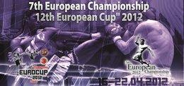 Europ. Meisterschaften Muay Thai 16.-22.4.2012 mit Christin Fiedler