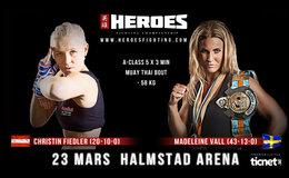 Christin Fiedler vs. Madeleine Vall
