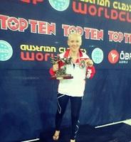 Christin Fiedler 1. Platz bei Austrian Classics K1