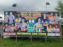 Mario RS-Gym gewinnt Pro Fight in Thailand