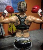 Christin Fiedler K.O. Sieg in Thailand