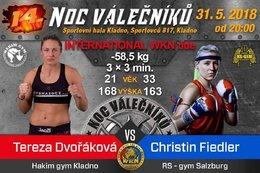 Title Fight Christin Fiedler
